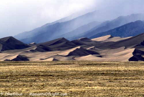 From a Distance Great Sand Dunes National Monument Colorado