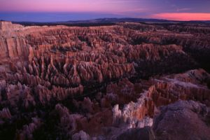 Dawn Starting from Bryce Point